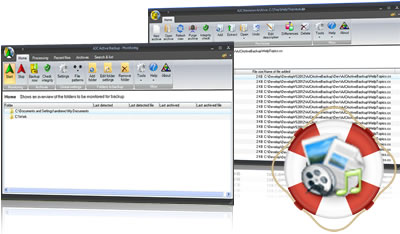 AJC Active Backup screenshot
